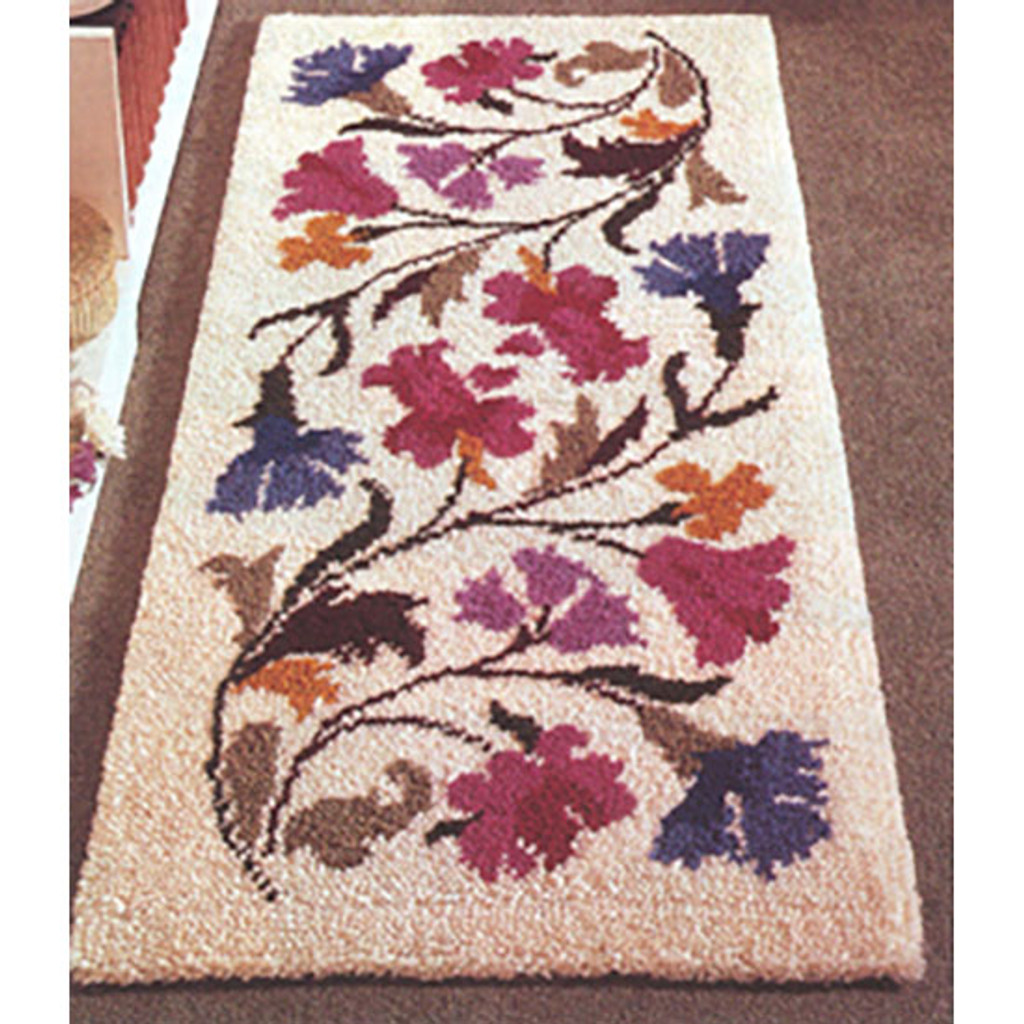 Chintz  Latch Hook Rug Kit