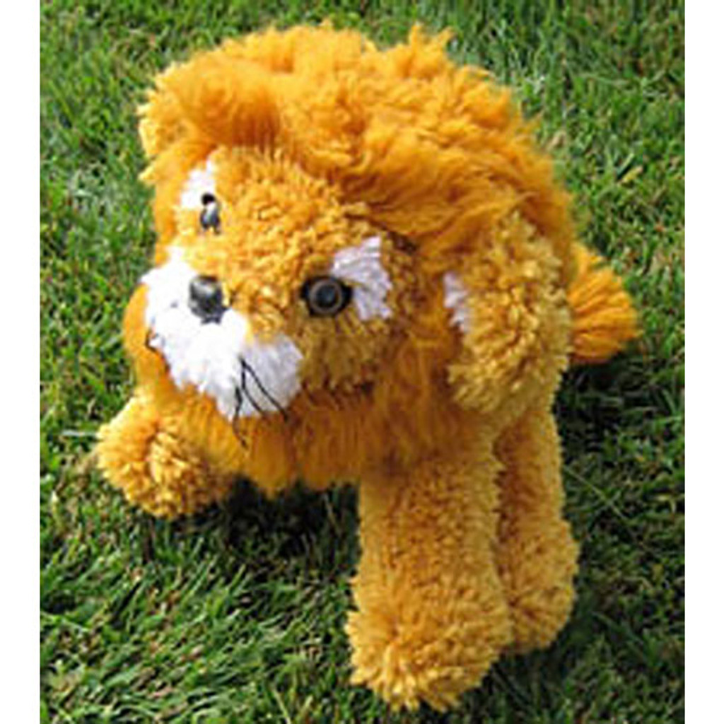 Lion Stuffed  Animal Latch Hook Kit