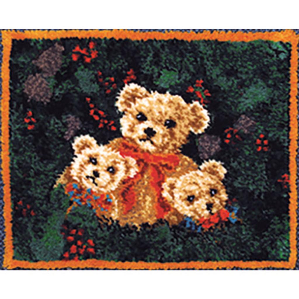 Bears Latch Hook Rug Kit