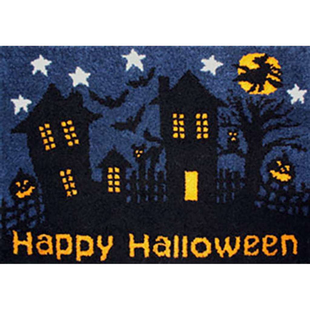 Happy Halloween Latch Hook Rug Kit