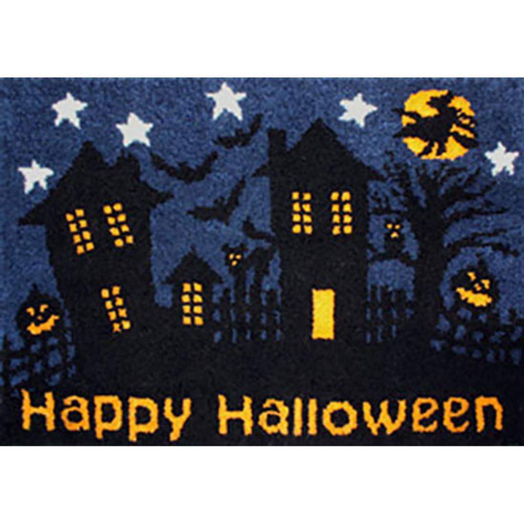 Happy Halloween Latch Hook Rug Kit