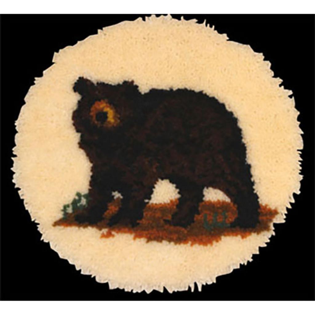 Bear Latch Hook Rug Kit