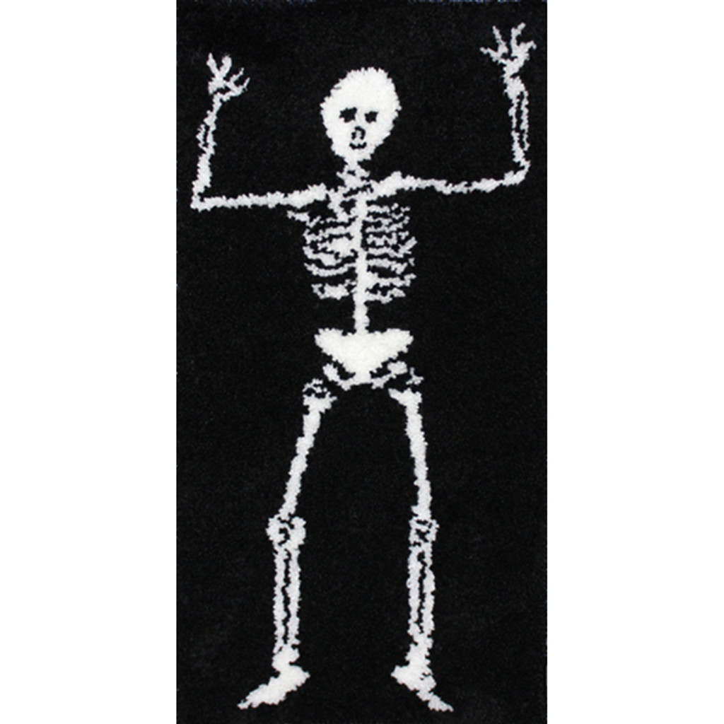 Skeleton Latch Hook Rug Kit