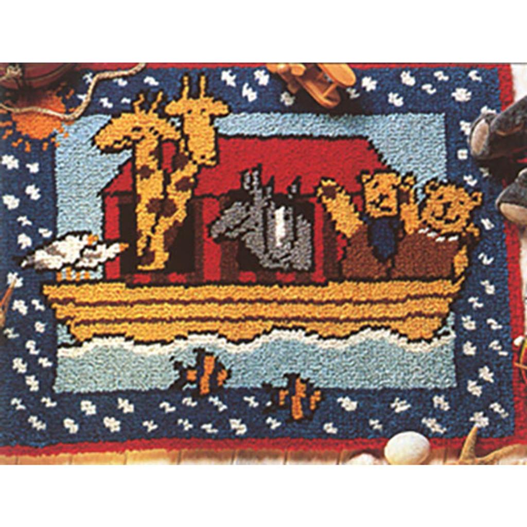 Noah's Ark Latch Hook Rug Kit