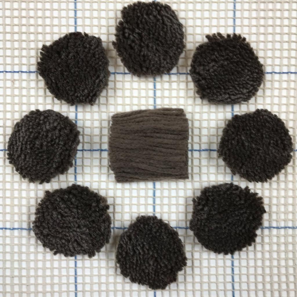 True Taupe Pre-cut Latch Hook Yarn