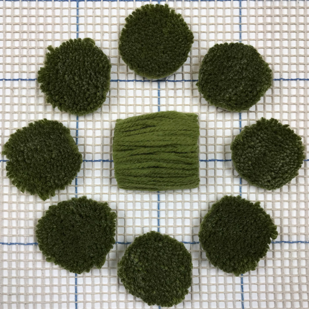 Avocado Pre-cut Latch Hook Yarn