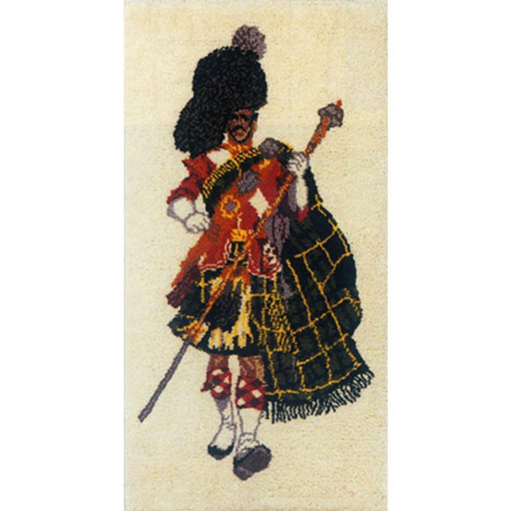 Clansman Latch Hook Rug
