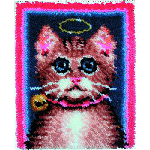 Good Kitty Latch Hook Rug Kit