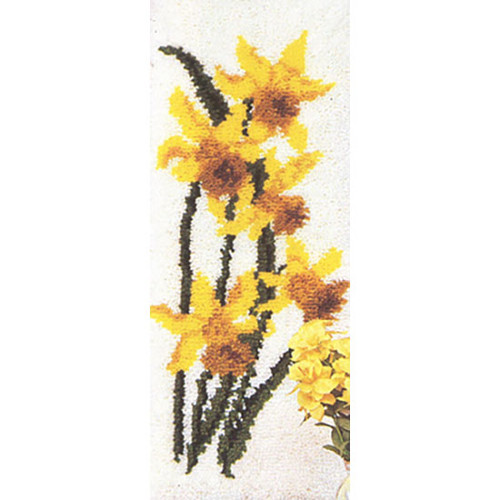 Daffodils Latch Hook Rug Kit