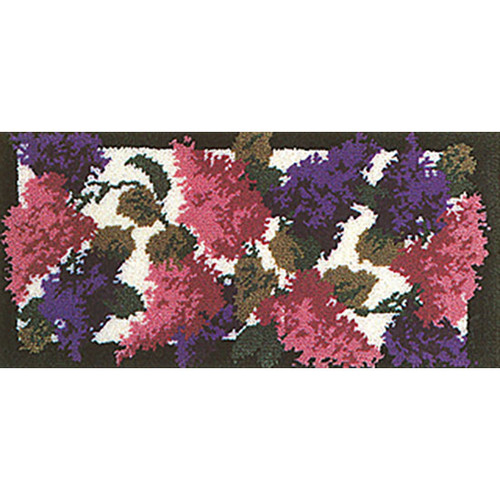 Lilacs Latch Hook Rug Kit