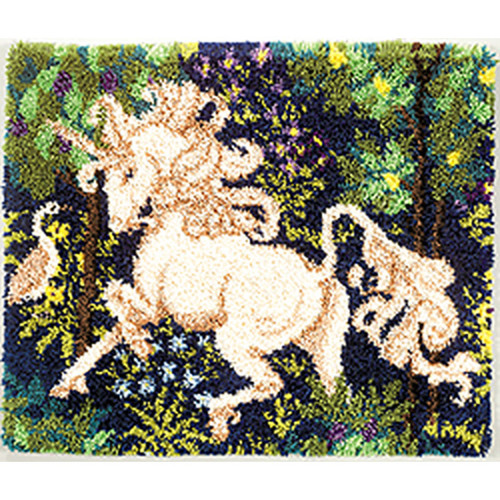 Unicorn Latch Hook Rug Kit