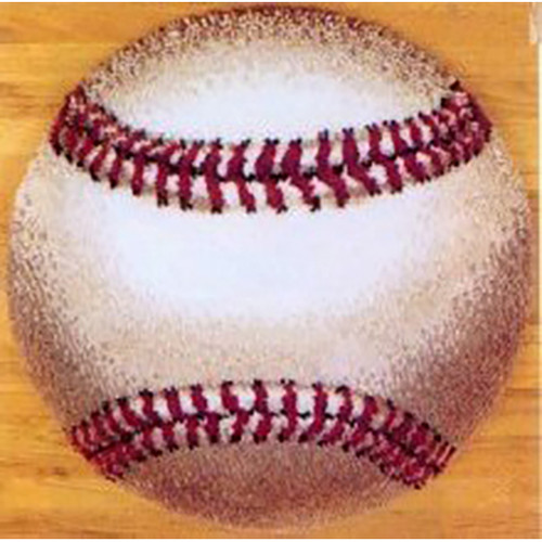 Baseball Latch Hook Rug Kit
