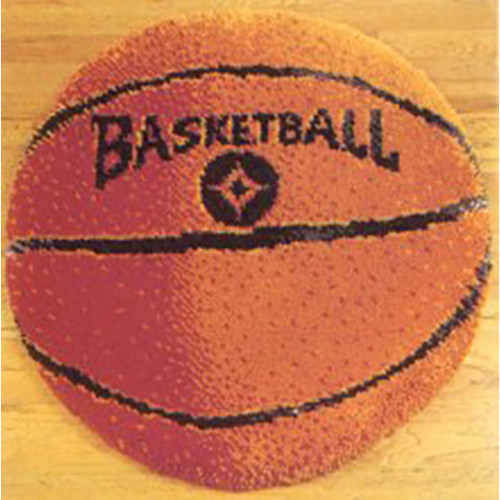 Basketball Latch Hook Rug Kit