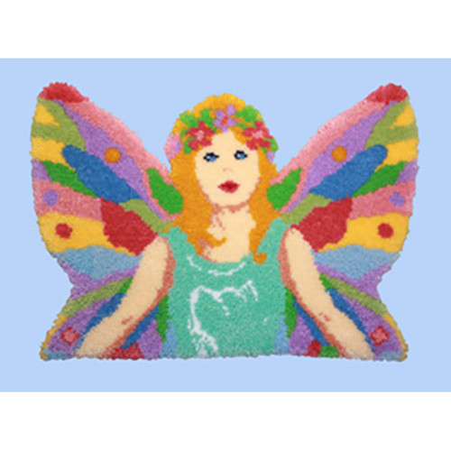 Pastel Fairy Latch Hook Rug Kit