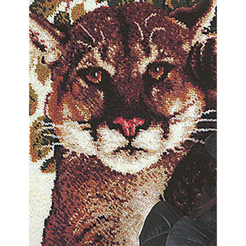 Cougar Latch Hook Rug Kit