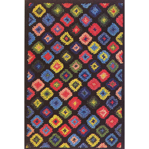 Granny Squares  Latch Hook Rug Kit