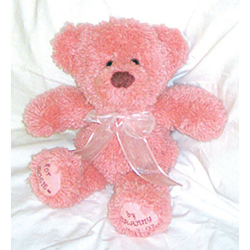 Pink Teddy Bear Latch Hook Kit