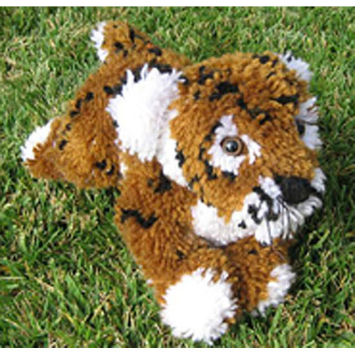 Tiger Stuffed Animal Latch Hook Kit