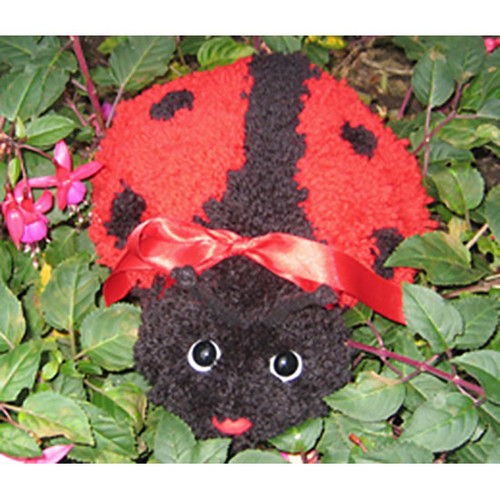 Ladybug  Latch Hook Pillow Kit
