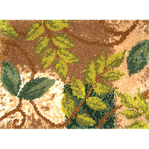 Leaves Geometric Latch Hook Rug Kit