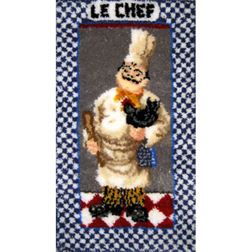Le Chef Latch Hook Rug Kit