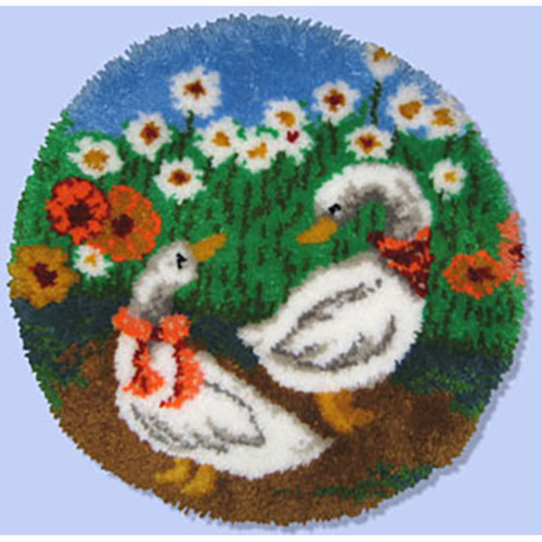 Geese Latch Hook Rug Kit