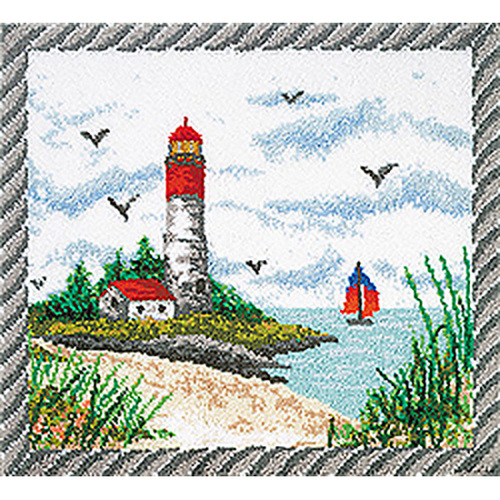 Lighthouse Latch Hook Rug Kit