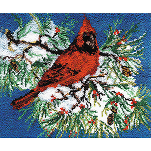 Cardinal Latch Hook Rug Kit