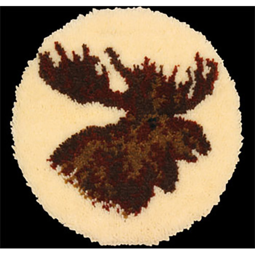 Moose Latch Hook Rug Kit