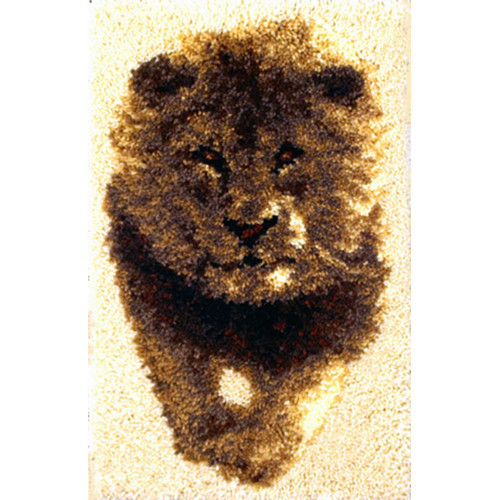 King of the Jungle Latch Hook Rug Kit