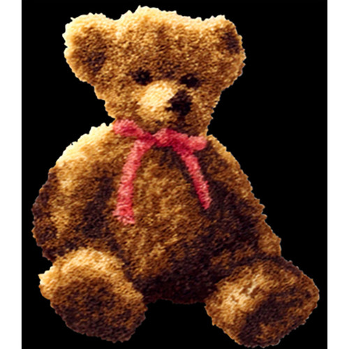 Bernadette Bear Latch Hook Rug Kit