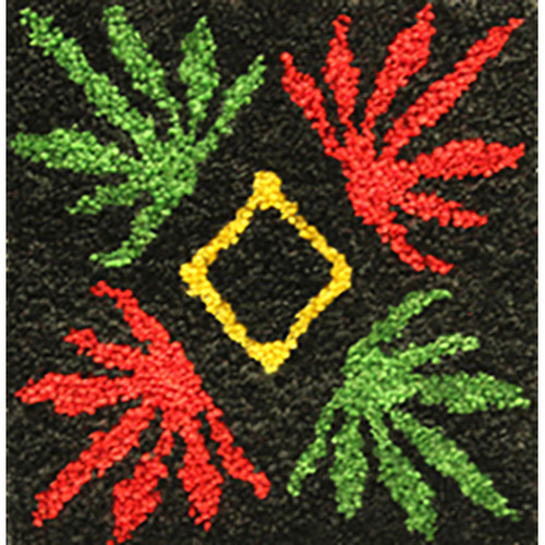 Livin' High Four Leaf Latch Hook Rug Kit