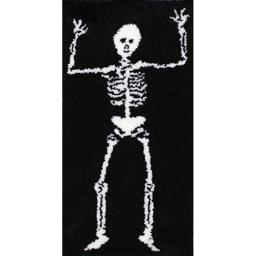Skeleton Latch Hook Rug Kit