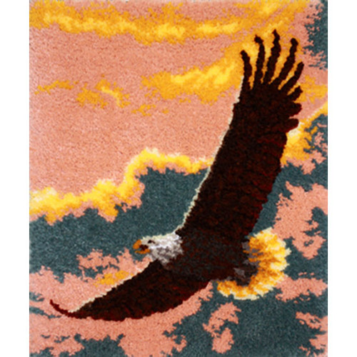 Soaring Spirit Latch Hook Rug Kit