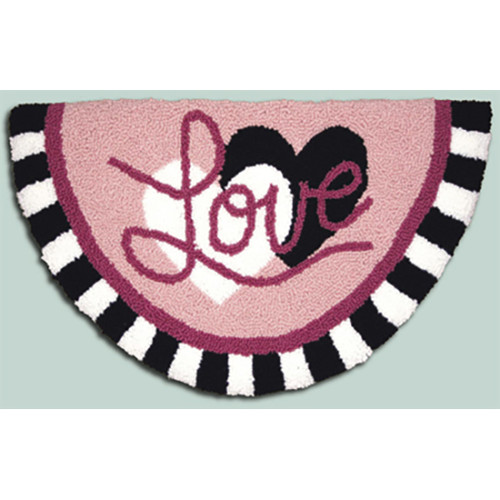 Hearts and Love Punch Needle Rug Kit