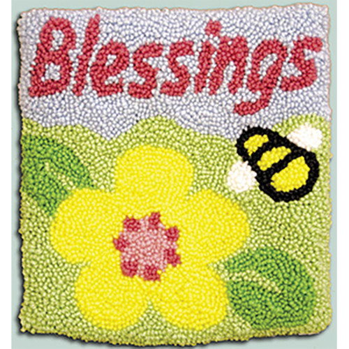 Blessings Punch Needle Pillow Kit
