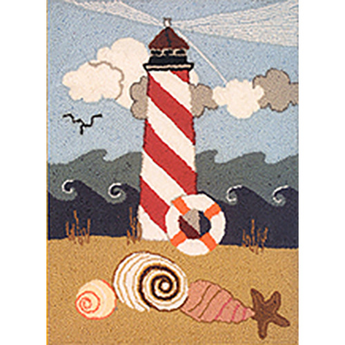 Lighthouse Punch Needle Rug Kit