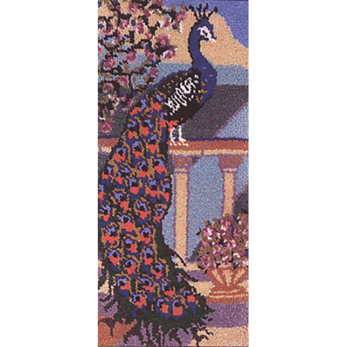 Peacock  Latch Hook Rug Kit
