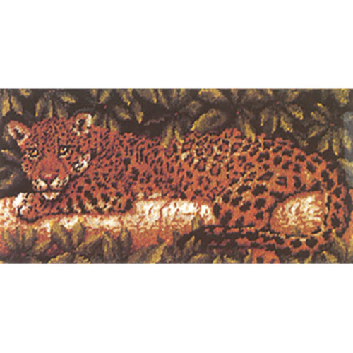 Jaguar Latch Hook Rug Kit
