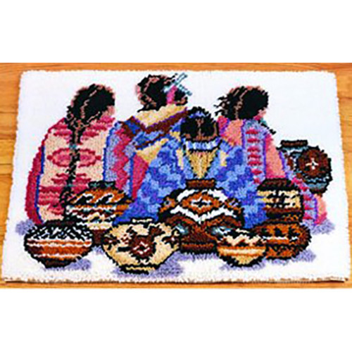 Indian Artistry Latch Hook Rug Kit