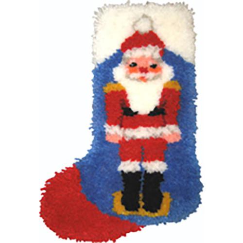 Nutcracker Latch Hook Christmas Stocking Kit