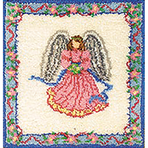 Angel Latch Hook Rug Kit