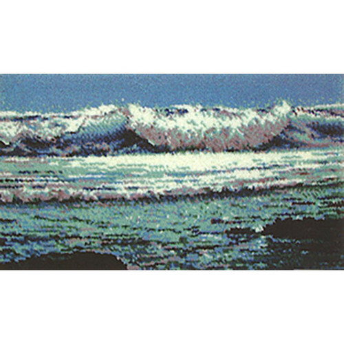 Ocean View Latch Hook Rug Kit