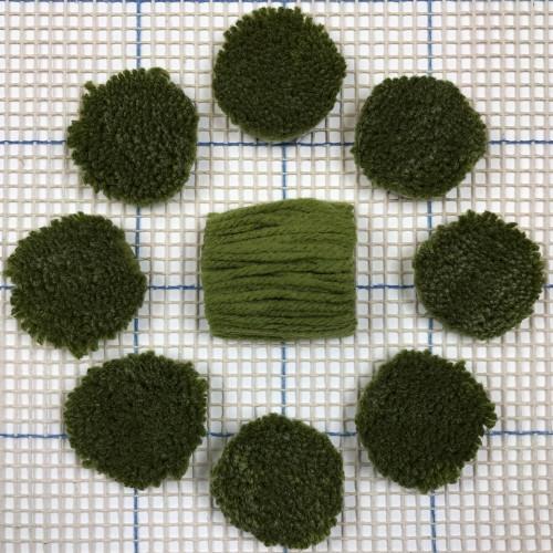Avocado Pre-cut Latch Hook Yarn
