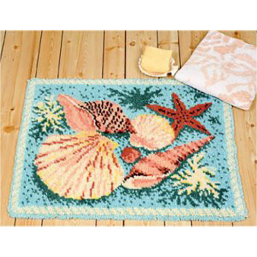 Sea Shells Latch Hook Rug
