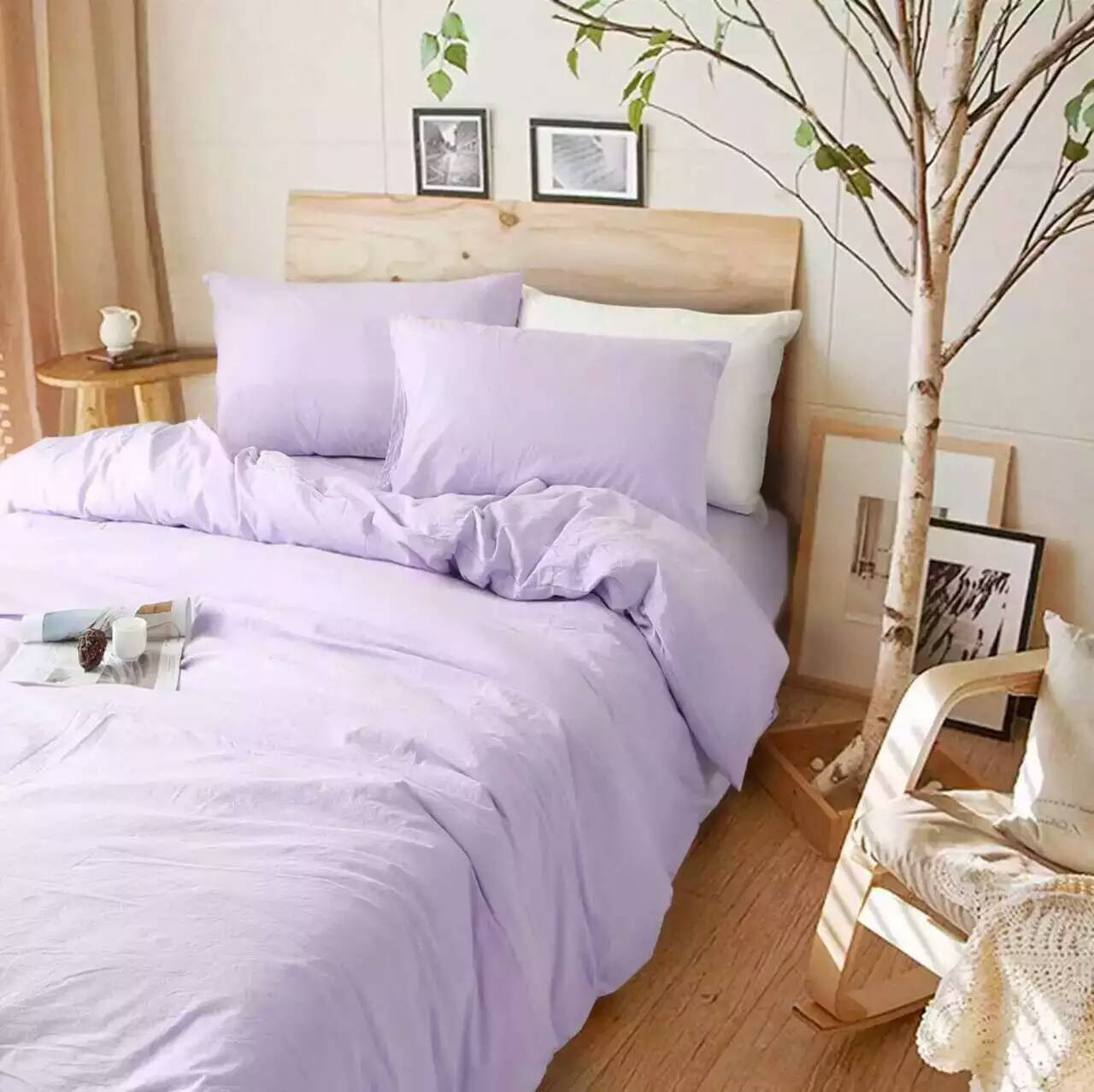 Purple duvet covers