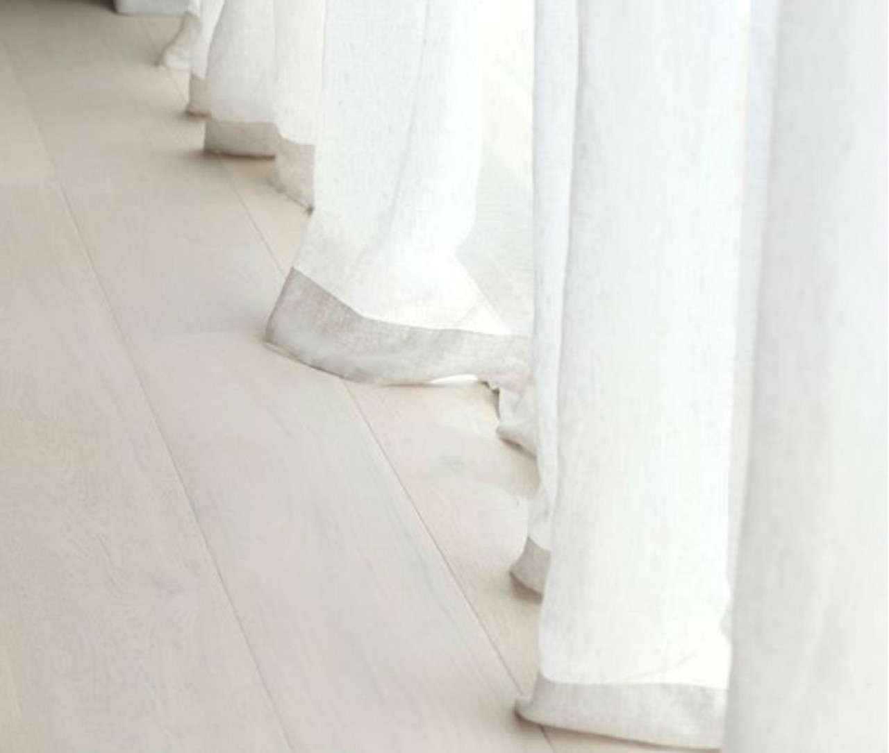 Natural Linen Sheer Curtains In White White Sheer Curtains Custom Sheer Curtains Custom Size Custom Made