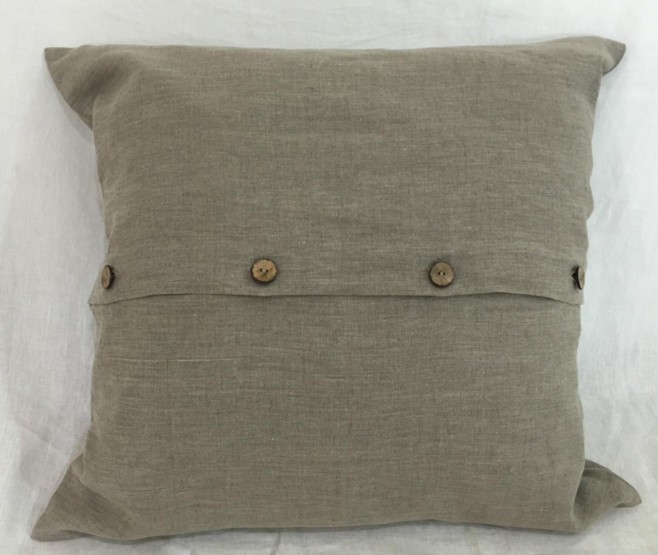 linen euro sham covers