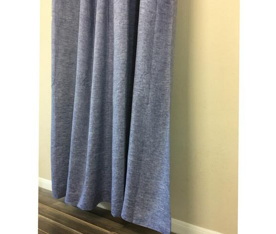 Chambray Denim Linen Curtain