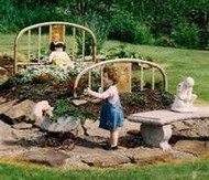 Flower Gardens Using Recycled Goods: The Way Of The Future